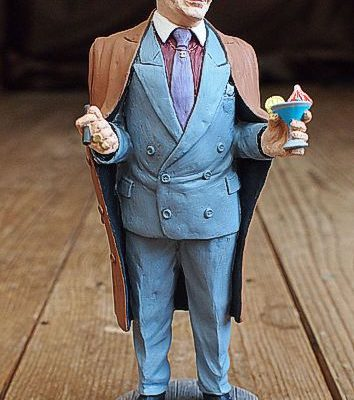 Del Boy Original Hand Painted Resin Figure