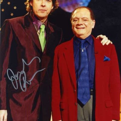 Jonathan Ross Personally Signed 10x8 Photo