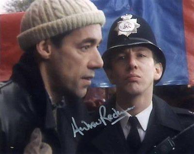 Royal Flush Policeman Personally Signed 10x8 Screen Photo