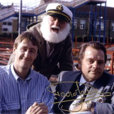 David Jason Personally Signed 10x8 in Jolly Boys (thr)