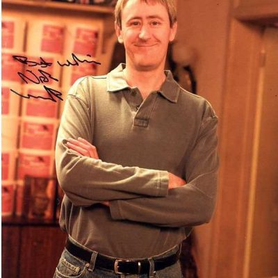 Nicholas Lyndhurst Personally Signed Photo Approx 10x8 inches FLD