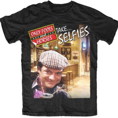 Only Fools & Horses Take Selfies Official T Shirt