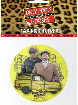 Tax Disc Holder - Only Fools & Horses (Van - Del and Rodney)