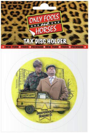 Tax Disc Holder - Only Fools & Horses (Van - Del and Rodney)