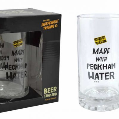 Made with Peckham Spring Water Official Beer Glass - DISCOUNTED