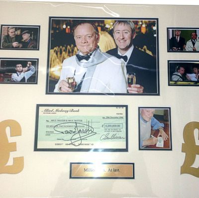 Millionaires at last Signed Mount