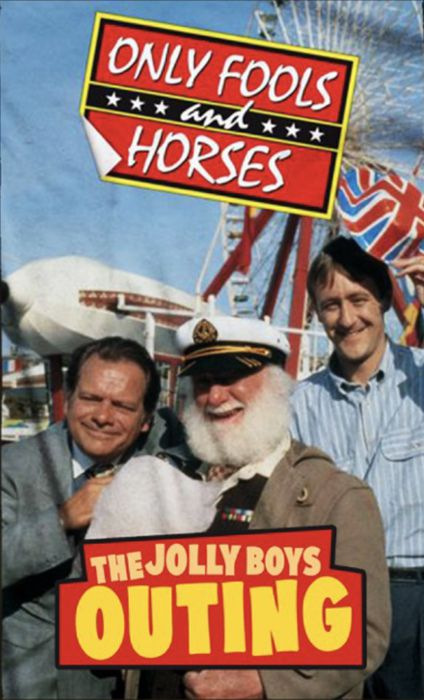 only fools and horses official beach towel the jolly boys outing 1 del boys online shop. Black Bedroom Furniture Sets. Home Design Ideas